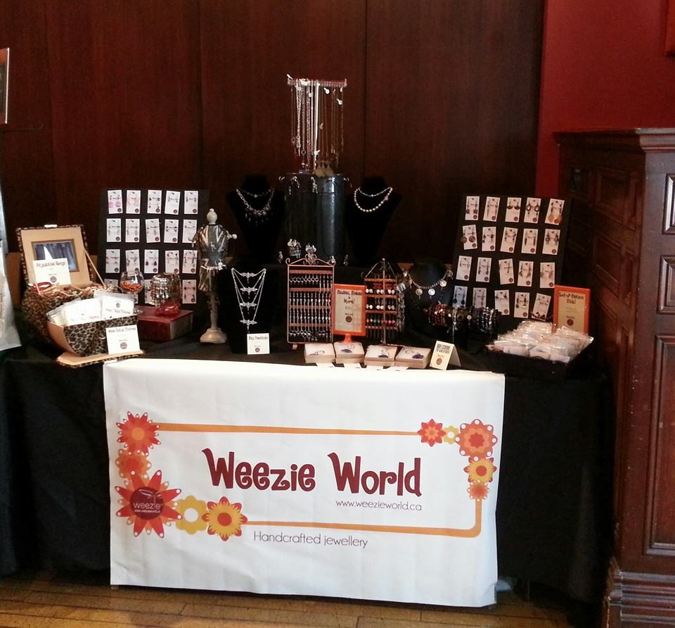Weezie World at the 2014 Toronto Indie Arts Market (Gladstone Hotel)